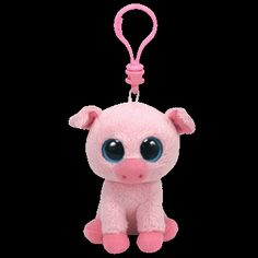 CORKY THE PIG TY BEANIE BOOS KEY CLIP CURRENT MINT New Buy any 4 get 1 Free   1988b348477