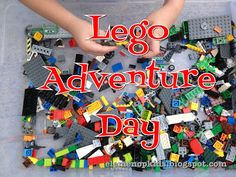#Lego Adventure Day! Games and activities themed around everyone's favorite building block! #Kids will love it!