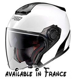 NOLAN CASQUE JET N40.5 SPECIAL N-COM PURE WHITE. Nolan Jet N40-5 Special N-Com 15 - Casque de moto blanc - Taille XL. #Automotive Parts and Accessories #MOTORCYCLE_ACCESSORY