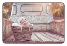 rustic newborn shoot :) @JustinandKenzie Daggett know of anyone with an old blue truck?!?!