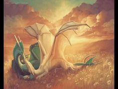 Fairies, dragons and other mythological creatures community FB page Fire Dragon, Dragon Art, Green Dragon, Magical Creatures, Fantasy Creatures, Fantasy Dragon, Fantasy Art, Dragon Dreaming, Got Dragons