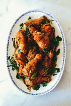 Five Spice Fried Chicken, by thewoksoflife.com