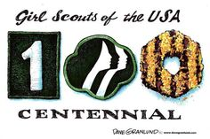 celebrating 100 years of Girl Scouts