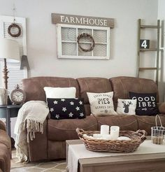 62 modern farmhouse living room decor ideas