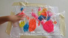 Com'è divertente colorare con le dita, colorare senza sporcare poi lo è ancora di più. Ma come fare? Semplicissimo, leggi qui Paper Crafts, Drawings, Pictures, Mary, Painting, Artists, School, Winter Time, Spring