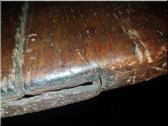 Tiroli asztal - Antik bútor, egyedi natúr fa és loft designbútor, kerti fa termékek, akácfa oszlop, akác rönk, deszka, palló Fa, Design, Antique Furniture, Hungary
