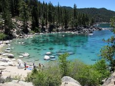 Secret Cove, Lake Tahoe, California
