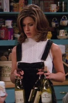 "Dungaree shorts | 20 Things Rachel Wore In ""Friends"" That You'd Definitely Wear Now"