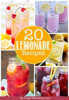 20 Delicious Lemonad