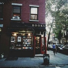I don't know where this bookstore is, but it has exactly the right vibe for Galloway Books.