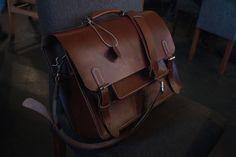 1c639676aa Messenger bag - Handmade (buffalohide leather)