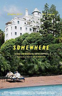 somewhere .. noch ein Film von Sophia Coppola .. der Protagonist/ ein Schauspieler lebt im Hotel und weiß nichts mit sich anzufangen