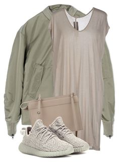 """Untitled #3194"" by xirix ❤ liked on Polyvore featuring adidas, Rick Owens, 3.1 Phillip Lim and adidas Originals"