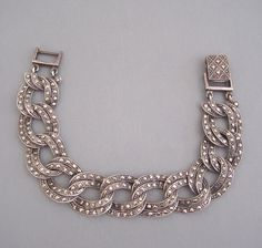 It's totally fabulous, circa1920's sterling silver marcasite