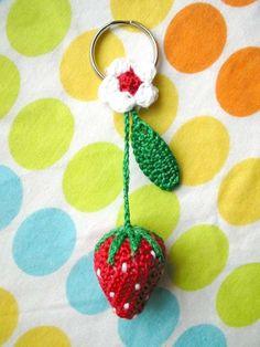 Crochet strawberry!