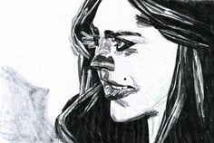 Alessandro Martoz Martorelli Woman Face, Disney Characters, Fictional Characters, Comics, Drawings, Project 3, Faces, Portraits, Illustrations