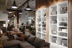 the brand new MUST SOCIETY concept store that brings together, all under one roof, MUST, Cuisines Steam, la Bête à Pain, Jardin de Ville, Prune les fleurs, Fillion Électronique and Ligne Roset.