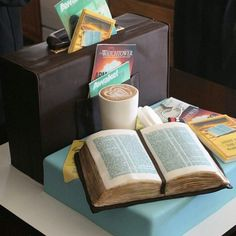 All edible cake made a few years ago for a luncheon with a traveling overseer #pioneercake