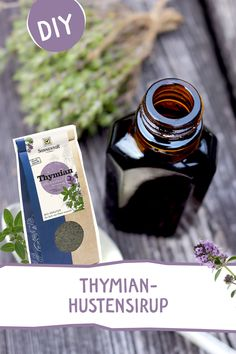 This homemade thyme syrup is the perfect, natural helper for coughs and sore throats. juice syrup This homemade thyme syrup is the perfect, natural helper for coughs and sore throats. Baby Health, Home Health, Natural Cough Remedies, Cough Syrup, Weight Loss Blogs, Sore Throat, Health And Beauty Tips, Alternative Medicine, Herbal Medicine