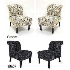 @Overstock - Set of Two Modern Accent Chairs in Architectural Fabric available in cream or blackhttp://www.overstock.com/Home-Garden/Modern-Accent-Chairs-in-Architectural-Fabric-Set-of-2/6802009/product.html?CID=214117 $350.99