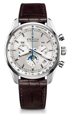 Zenith El Primero 410 Watch: Another Ode To The Past zenith Just beautiful http://www.maier.fr/montres-prestige/montre-collection-horlogerie-luxe?post-home=&marques%5B%5D=41