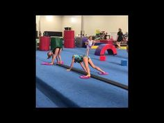 Fun Conditioning Circuit - YouTube Gymnastics Levels, Gymnastics Lessons, Preschool Gymnastics, Gymnastics Coaching, Gymnastics Workout, Gymnastics Things, Gymnastics Conditioning, Conditioning Training, Cheer Workouts
