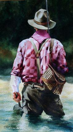 #Art by Nelson Boren http://fishingpredator.blogspot.com