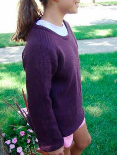 Image result for top down knitting patterns sweaters