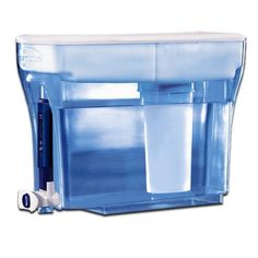 NEW ZeroWater 4 23-Cup Water Dispenser and Filtration System with TDS Meter