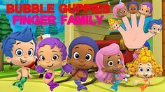(Bubble Guppies) Finger Family  Nursery Rhymes  KidsF  fingerfamilyheroes