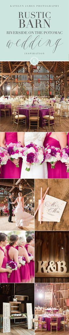 Rustic Barn Reception Venue Riverside On the Potomac Barn Wedding Photos