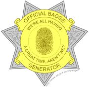 Official badge generator...We are going to be CRCT Detectives!