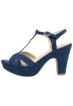 Anna Field Platform sandals - navy for £25.00 (25/03/15) with free delivery at Zalando