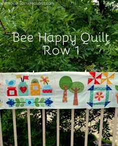 Bee Happy Quilt.  A