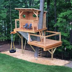 Playhouse with hammock net Tree house with hammock net Two level tree house Two . Playhouse with hammock net Tree house with hammock net Two level tree house Two level playhouse