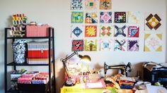 My Workspace   by sewandtellhandmade