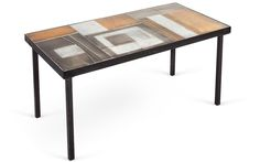 Tile Top Table by Roger Capron