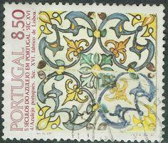 Portugal 1981 Tiles (4th series) 8e50 Multicoloured SG1862 FU