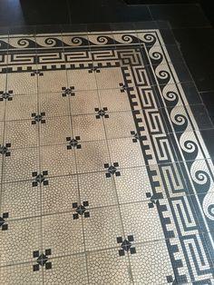 Beautiful floor in The Duchess in Amsterdam #restaurant