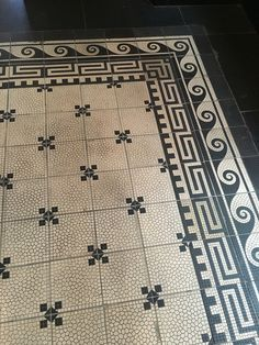 Beautiful floor in The Duchess in Amsterdam #restaurant