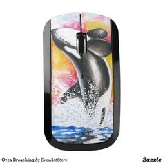 Orca Breaching Wireless Mouse