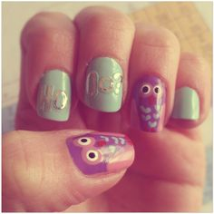 Pink&Purple Owls say HoOo??
