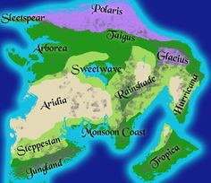 How to Color Your Map Using SCIENCE! - Sketching out a map for a setting can be a lot of fun. Drawing a map gives you a bird's-eye view of the world, a way to spatially organize plot arcs, and can be a great piece of artwork in its own right. But like most works of fiction, the creator should remember to keep it as believable as possible. Maps of Earth-like settings, however, can benefit from following some basic rules...
