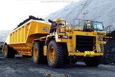 rollerman1:  Cat 776D haul truck with a Mega belly dump wagon