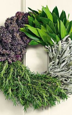Decorate with Herb Wreaths...