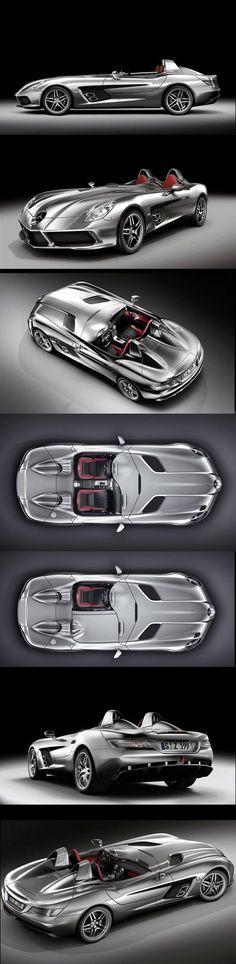 New Mercedes Benz McLaren SLR Stirling Moss JM