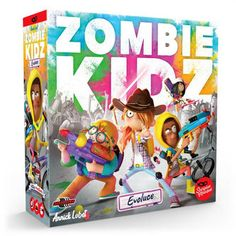 Zombie Kidz: Evoluce Family Games, Games For Kids, Games To Play, Board Game Store, Board Games, Exploding Kittens Card Game, Games Zombie, Friend Together, Zombie Hunter
