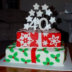 40th Birthday Cake 40th Birthday Cakes, Let Them Eat Cake, Cake Cookies, Desserts, Food, Tailgate Desserts, Deserts, Essen, Postres