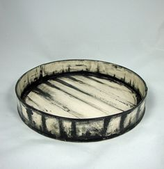 Olia Lamar  |  low striped bowl.