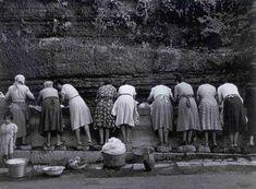 Nino Migliori, Le lavandaie, Italy, 1956